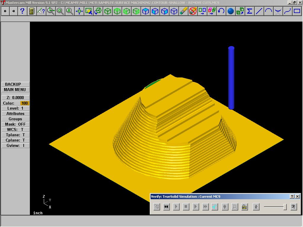 ap 238 testing for closed loop machining rh steptools com Mastercam V9 Manual Mastercam V9 Manual